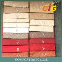 Buy cheap 130 Gsm Weight 150cm Width Faux Suede Fabric Plain Embroidery Dots Surface from wholesalers