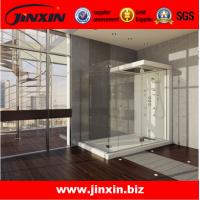 Buy cheap Decorative Hanging sliding door frameless shower doors from wholesalers