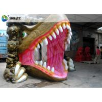 Buy cheap Dinosaur House 5D Movie Theater With Outside Cabin Box , Luxury Electric 9 Seats System product