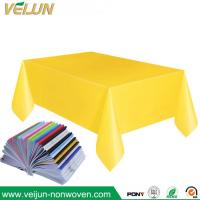 Buy cheap PP/TNT Non-woven Tablecloth disposable tablecloth for restaurant and hotel hospital from wholesalers