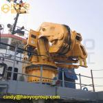 Buy cheap Folding Boom Marine Crane&Deck Equipment Offshore Crane from wholesalers