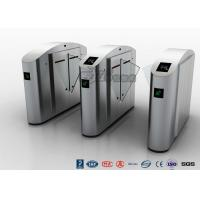 Buy cheap Flap Wing Automatic Systems Turnstiles Polishing With Anti - Reversing Passing from wholesalers