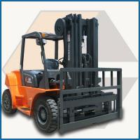 Buy cheap 3ton Hyundai engine forklift truck from wholesalers