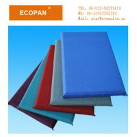 Buy cheap Noise Reducing Fiberglass Wall Decoration Panels , Textile Wall Panels from wholesalers