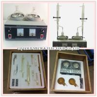 Buy cheap GD-260A Petroleum Products Water Content Tester(Double Units)/ASTM D95 Instrument by Distillation Method from wholesalers