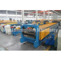 Buy cheap Metal Roofing Sheet Double Layer Steel Roll Forming Machine 0.3 - 0.8mm Thickness from wholesalers