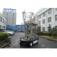 Buy cheap Aluminium Mast Self Propelled  Aerial Lift 12m For Office Buildings from wholesalers