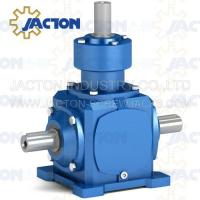 Buy cheap JT19 Spiral Bevel Gearbox Right Angle 19MM 3/4 Inch Drive Shafts Transmission Ratios 1:1 from wholesalers