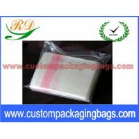 Buy cheap Red and Natural Custom Plastic Laundry Bags for Hotel / Hospital 25 Micron from wholesalers