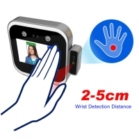 """Buy cheap 5"""" LCD 3m 0.2S Face Recognition Attendance System 200W Pixel product"""