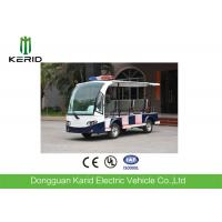 Buy cheap 8 Seater Battery Powered Electric Patrol Car , Public Security Car 48V 4KW Green Energy from wholesalers