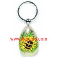 Buy cheap real insect with real flower keychains,insect key chains,bug keyring,insect keychains product