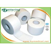 Buy cheap Cotton White Athletic Tape For Trainers Strapping , Adhesive Sports Wrap Tape from wholesalers