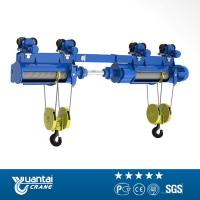Buy cheap YT 1ton To 20ton Cd/md Model Wire Rope Electric Hoist With Monorail Trolley from wholesalers