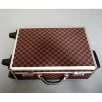 Buy cheap PU Surface Rolling Aluminium Trolley Case with EVA Foam Strong Handle Code Lock from wholesalers