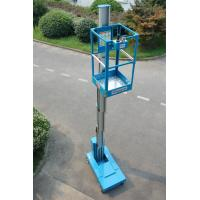 Buy cheap Blue Self Propelled Aerial Lift Single Mast Self Propelled With 5 m Working Height from wholesalers