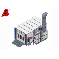 Buy cheap Diesel Heat Spray Room Downdraft Paint Booth from wholesalers