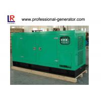 Buy cheap 400V 50kw Silent Diesel Generator Cummins Engine AC Three Phase Color Optional from wholesalers