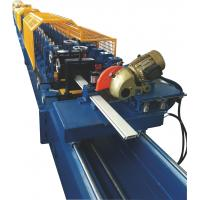 Buy cheap Galvanized Steel Shutter Roll Forming Machine With PU Foam Insulated 0.3~0.5mm Thickness from wholesalers