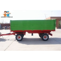 Buy cheap Farm Working Double Axles Side Dump Agricultural Tipping Trailers from wholesalers
