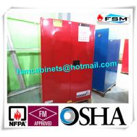 Buy cheap 90 GAL Safety Fireproof Paint Storage Cabinets Dual Vents For Industrial / Chemical from wholesalers