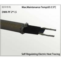 Buy cheap self regulating heating cable for solar energy heat tracing from wholesalers