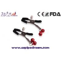 Buy cheap 1 Pair Nipple Clamps Clips Jewellery Bust Massager Stimulate Sex Toy Flirt Adult Games Products from wholesalers
