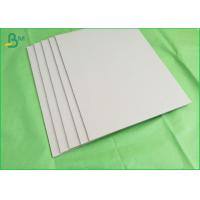Buy cheap High Density Laminated Gery Cardboard Paper 1.5mm Thickness Uncoated product