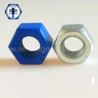 Buy cheap A192 2h Heavy Hex Structural Nuts;Heavy Hex Structural Nuts ASTM A194 2h Teflon from wholesalers