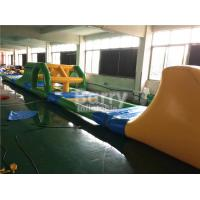 Buy cheap Heat Welding Inflatable Water Toys Giant Kids Floating Inflatable Water Obstacle Course from Wholesalers