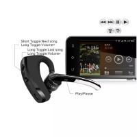 Buy cheap V8 Voyager Bluetooth Headset Handfree Bluetooth V4.0 Earhook Voice Control HeadPhone for Iphone 7 8 X Samsung S7 S8 from wholesalers