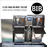 Buy cheap Semi-automatic Bag Water Filler BIB Filling Equipment Bag in Box Filling Machine from wholesalers