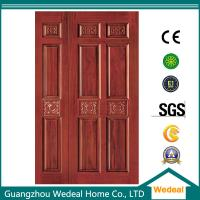 Buy cheap Fiberglass Door Interior door Yellow Wooden Door For Room/Hotel/Villa In High Quality from wholesalers