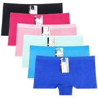 Buy cheap Yun Meng Ni Sexy Underwear Cotton Boyshort Plain Color Women Panties from wholesalers