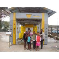 Buy cheap Effective Tunnel Car Washing Machine Yellow Brushed With Low Noise from wholesalers
