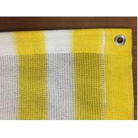 Buy cheap 0.9x25m Sun Shade Net Insect Window Net Customized Yellow And White from wholesalers