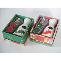 Buy cheap Christmas Ceramic Home Tealight Oil Burner Gift Set 16.5cm * 13cm * 7.1cm product