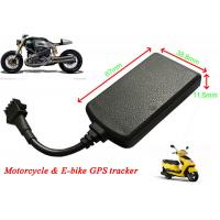 Buy cheap Motorcycle GPS Tracker Real Time Car Tracking System Remote Cut Off Petrol / Electricity from Wholesalers