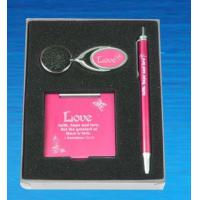 Buy cheap Metal keychain, metal pen, mirror for make-up from wholesalers