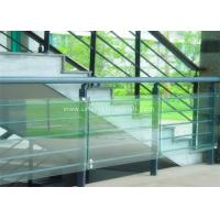 China Decorative Glass Railing Laminated Safety Glass Grey CE / CSI Approve on sale