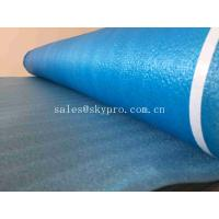 Buy cheap Commercial Blue Silver Soundproof Underlay For Laminate Flooring , Excellent Moisture Protection from wholesalers