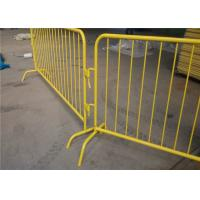 Buy cheap Removable Pedestrian Control Barriers For Event Road Safety SGS ISO Listed product