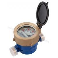 Buy cheap Single Jet Liquid Sealed Vane Wheel Hot/Cold Water Meter from wholesalers