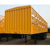 Buy cheap 12 Wheels 40 Tons Livestock Semi Trailers Triple Axle High Tensile Carbon Steel from wholesalers
