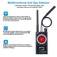 Buy cheap Home Wireless GSM Finder GPS Signal Lens RF Spy Bug Detector from wholesalers