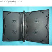 Buy cheap 14mm for 6 discs black DVD case with tray (YP-D8081a) from wholesalers