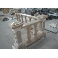 Buy cheap Yellow Natural Building Stone Railings G682 Granite Balusters Indoor Decoration from wholesalers