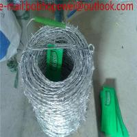 Buy cheap Barbed wire length per roll,barbed wire price,barbed wire fencing/barbed wire length per roll with SGS certificate from wholesalers