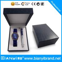 Buy cheap promotion gift set with wallet pen watch belt and men gift set from wholesalers
