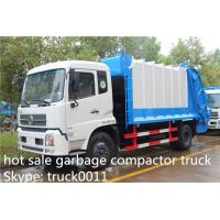 Buy cheap Dongfeng 4X2 10tons Compress Garbage/Refuse Compactor Truck, 210hp from wholesalers